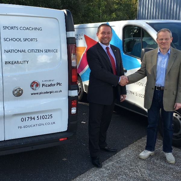 Personal Best Education hit the road with Picador Vauxhall