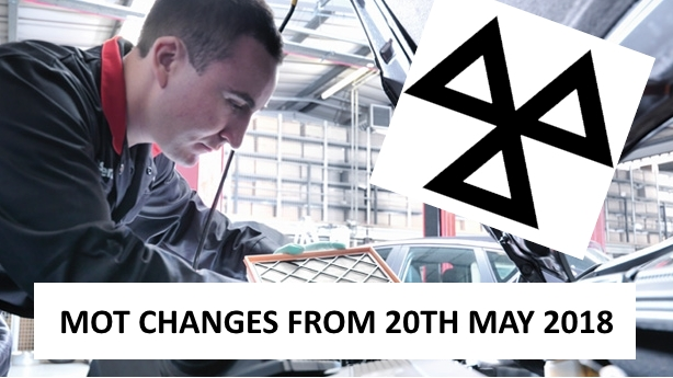 MOT changes coming in on 20th May 2018
