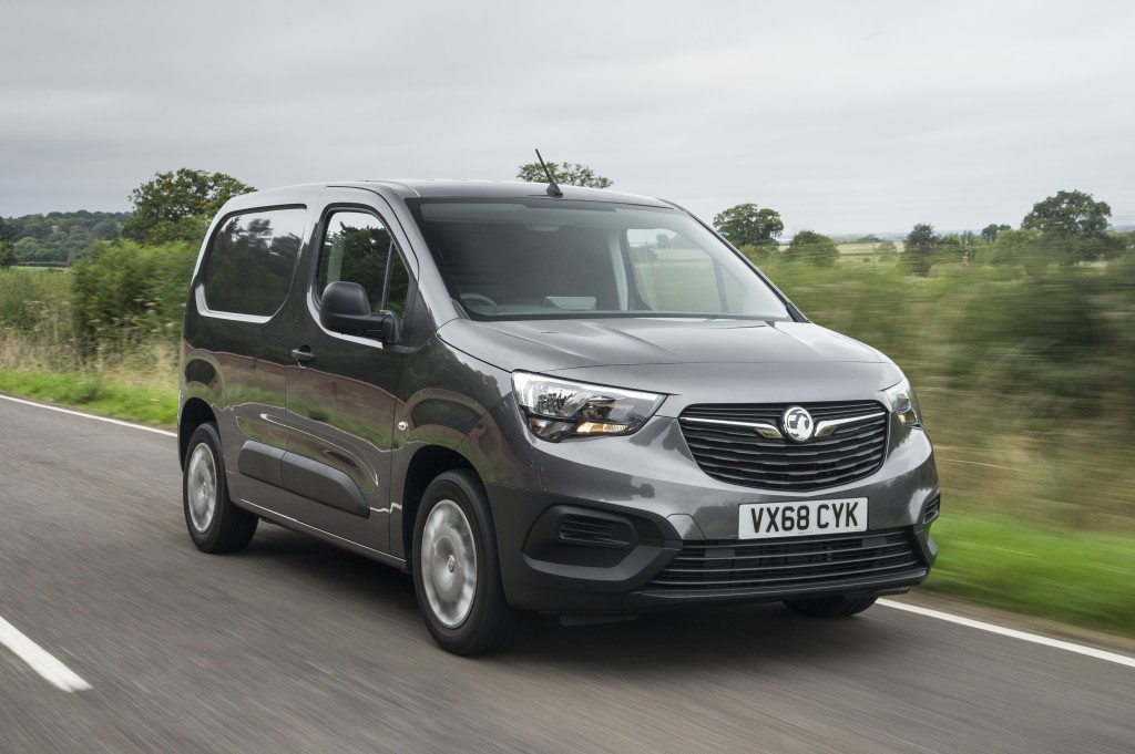 VAUXHALL COMBO VOTED INTERNATIONAL VAN OF THE YEAR 2019