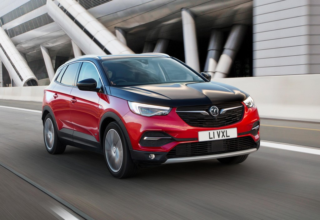 VAUXHALL GOES ELECTRIC WITH NEW GRANDLAND X