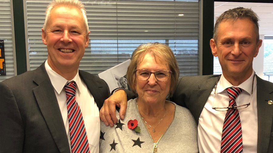 Andrea retires after 43 years with Picador plc