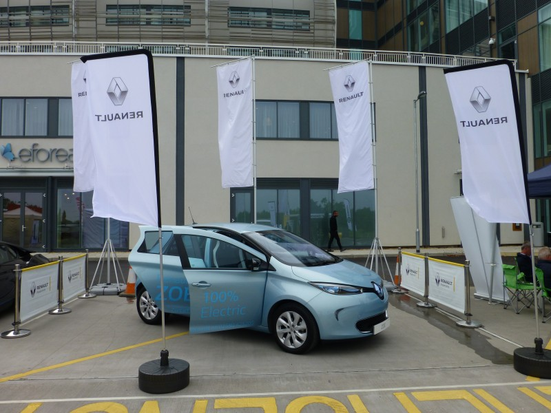 Picador go electric at The Big Green Event