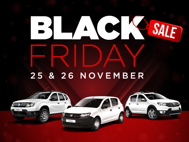 Picador Dacia goes black this Friday!