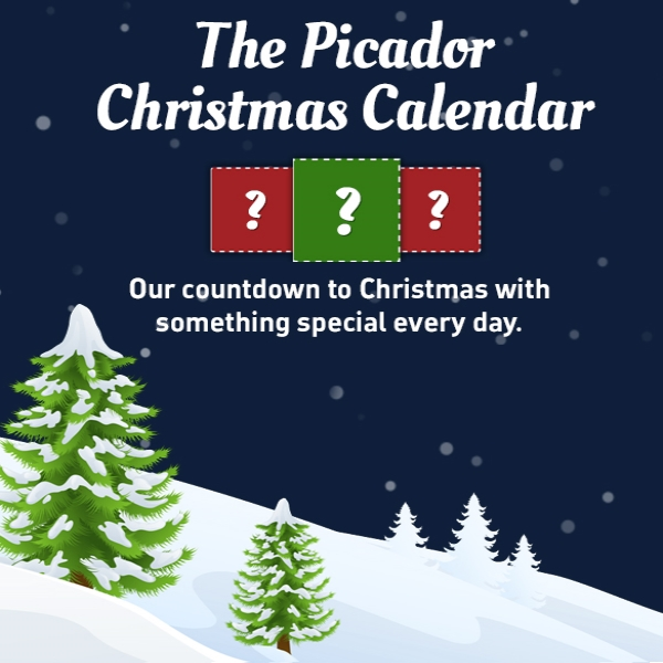 Christmas is coming to Picador