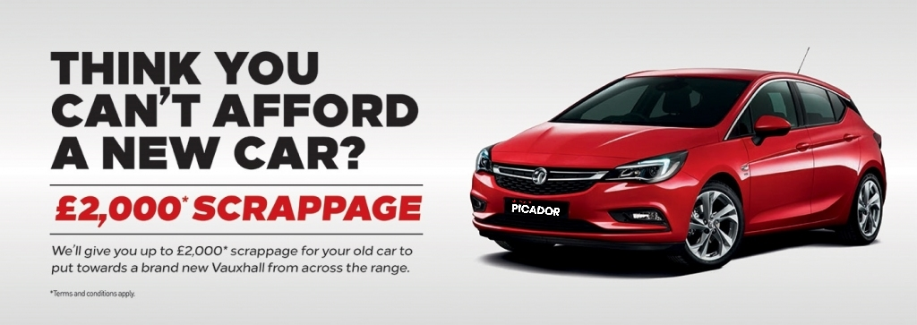 Vauxhall Scrappage is back
