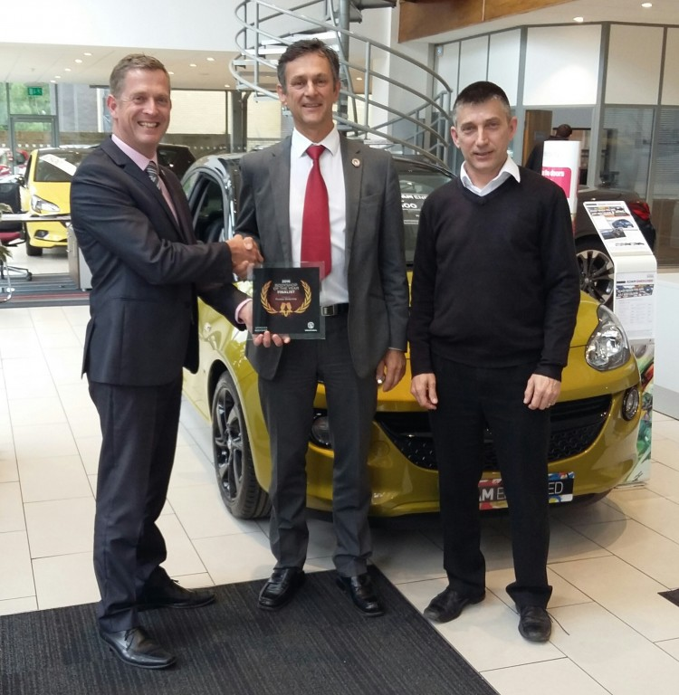 PICADOR ACCIDENT REPAIR CENTRE SELECTED FOR VAUXHALL BODYSHOP OF THE YEAR AWARD