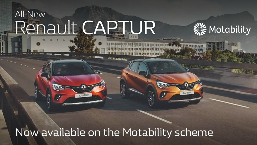 All-New Renault CAPTUR Motability Offer