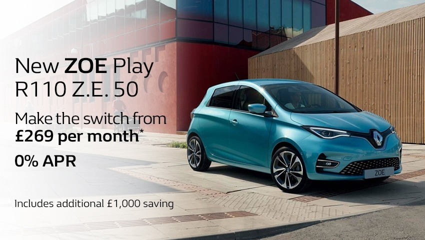 New Zoe from just £269 per month