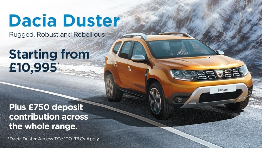New Dacia Duster New Car Offer