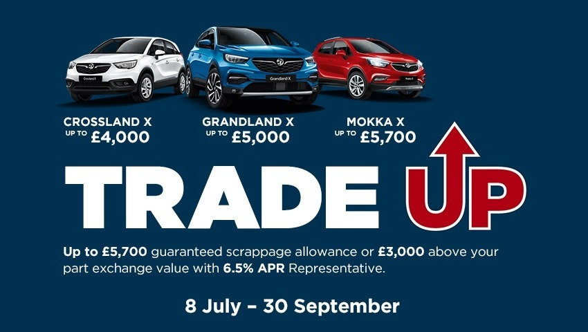 Vauxhall  Event Offer