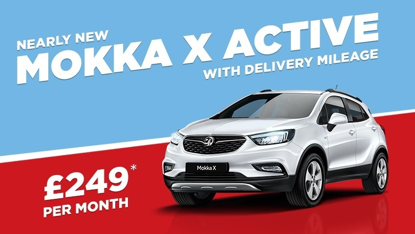 NEARLY NEW Mokka X Active only £249 a month