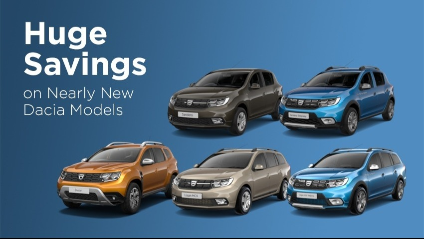 Nearly New Dacia for Immediate Delivery