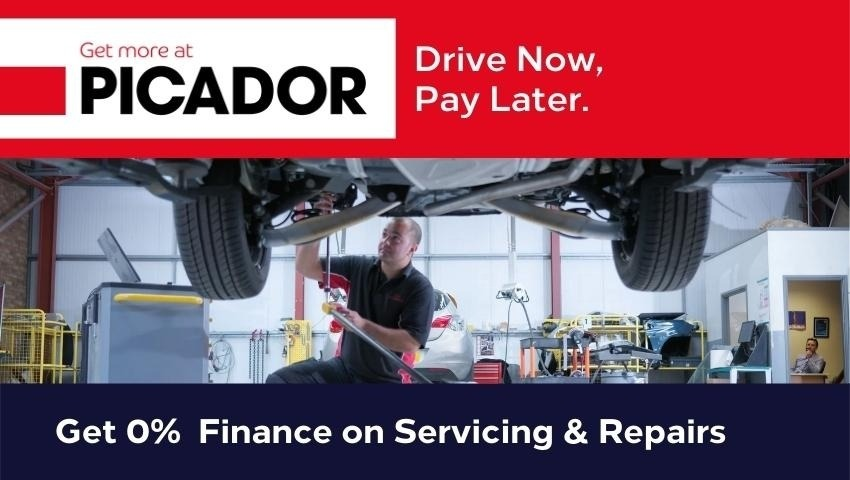 0% Finance on Servicing & Repairs