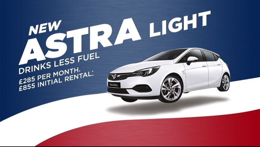 New Vauxhall Astra New Car Offer